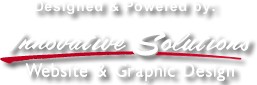 Designed & Powered by Innovative Solutions Website & Graphic Design
